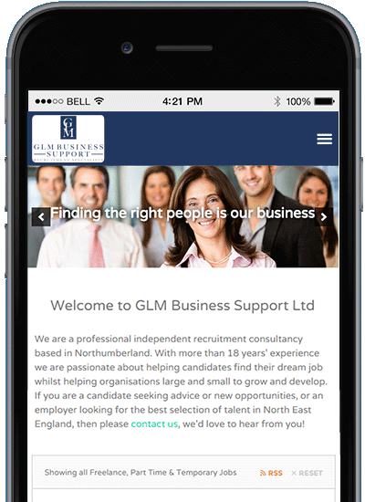 GLM Business Support North Tyneside - Professional Office & Languages Specialist Recruitment